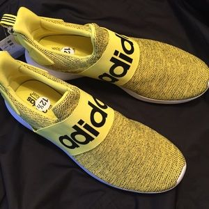 Adidas Lite Racer Adapt yellow and black 12.5 mens